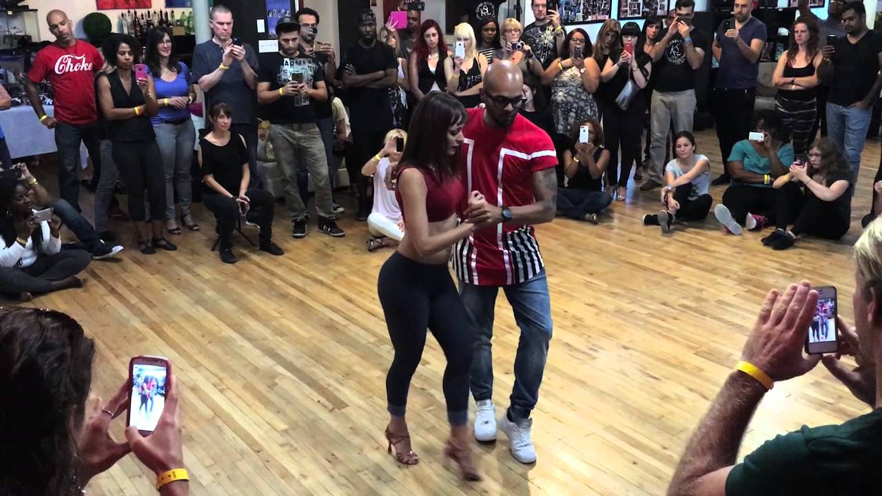 "Albir & Sara Demo to Archie & Sizzle's song ""Wish"" in Montreal Kizomba"